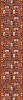 کلکسیون رول عرض ١٠٠ کد  ٩٤١ گردویی تراکم ٩٦٠(کد:١٤٧١)